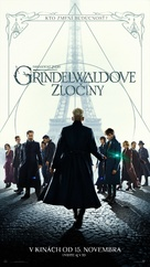 Fantastic Beasts: The Crimes of Grindelwald - Slovak Movie Poster (xs thumbnail)
