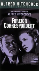 Foreign Correspondent - VHS cover (xs thumbnail)
