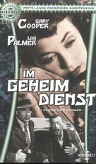 Cloak and Dagger - German VHS movie cover (xs thumbnail)
