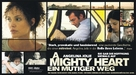 A Mighty Heart - German Movie Poster (xs thumbnail)