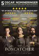 Foxcatcher - Danish Movie Poster (xs thumbnail)