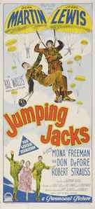Jumping Jacks - Australian Movie Poster (xs thumbnail)