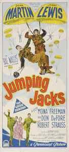 Jumping Jacks - Australian Movie Poster (xs thumbnail)