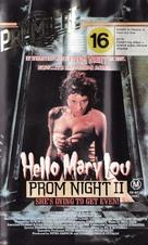 Hello Mary Lou: Prom Night II - Australian Movie Cover (xs thumbnail)