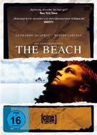 The Beach - German DVD cover (xs thumbnail)