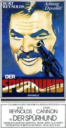 Shamus - German Movie Poster (xs thumbnail)