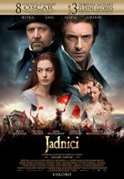 Les Misérables - Croatian Movie Poster (xs thumbnail)