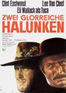 Il buono, il brutto, il cattivo - German Movie Poster (xs thumbnail)