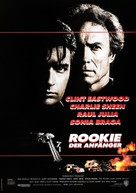The Rookie - German Movie Poster (xs thumbnail)