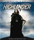 Highlander - Blu-Ray cover (xs thumbnail)