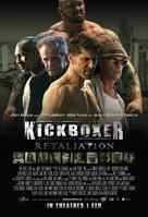 Kickboxer: Retaliation - Singaporean Movie Poster (xs thumbnail)