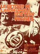 Dr. Phibes Rises Again - French Movie Poster (xs thumbnail)