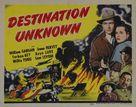 Destination Unknown - Movie Poster (xs thumbnail)
