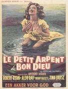 God's Little Acre - Belgian Movie Poster (xs thumbnail)