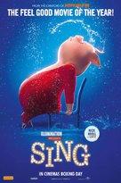 Sing - Australian Movie Poster (xs thumbnail)