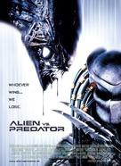 AVP: Alien Vs. Predator - Danish Movie Poster (xs thumbnail)