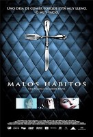 Malos hábitos - Mexican Movie Poster (xs thumbnail)