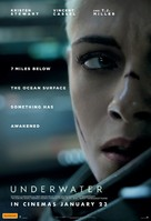 Underwater - Australian Movie Poster (xs thumbnail)