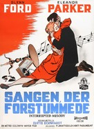 Interrupted Melody - Danish Movie Poster (xs thumbnail)