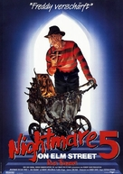 A Nightmare on Elm Street: The Dream Child - German Movie Poster (xs thumbnail)