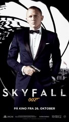 Skyfall - Norwegian Movie Poster (xs thumbnail)