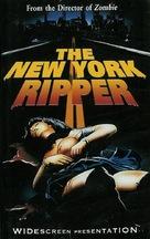 Lo squartatore di New York - VHS movie cover (xs thumbnail)