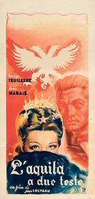 L'aigle à deux têtes - Italian Movie Poster (xs thumbnail)