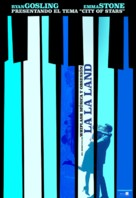 La La Land - Argentinian Movie Poster (xs thumbnail)