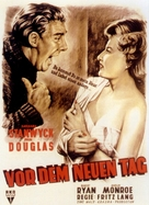 Clash by Night - German Movie Poster (xs thumbnail)