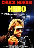 Hero And The Terror - German Movie Poster (xs thumbnail)