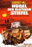 La collina degli stivali - German Movie Poster (xs thumbnail)
