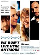 We Don't Live Here Anymore - French Movie Poster (xs thumbnail)