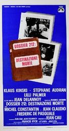 La peau de torpedo - Italian Movie Poster (xs thumbnail)