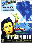 The Blue Lagoon - French Movie Poster (xs thumbnail)