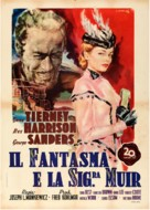 The Ghost and Mrs. Muir - Italian Movie Poster (xs thumbnail)