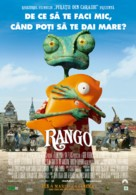 Rango - Romanian Movie Poster (xs thumbnail)
