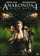 Anaconda 4: Trail of Blood - Czech Movie Cover (xs thumbnail)
