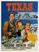 Texas - Danish Movie Poster (xs thumbnail)