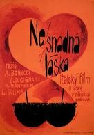 L'amore difficile - Polish Movie Poster (xs thumbnail)