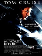 Minority Report - French Movie Poster (xs thumbnail)