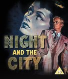 Night and the City - British Blu-Ray movie cover (xs thumbnail)