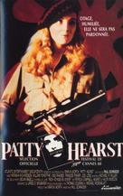 Patty Hearst - French VHS movie cover (xs thumbnail)