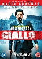 Giallo - British Movie Cover (xs thumbnail)