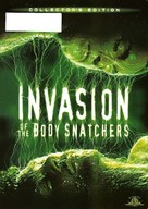 Invasion of the Body Snatchers - DVD movie cover (xs thumbnail)