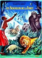Les seigneurs de la forêt - French Movie Poster (xs thumbnail)