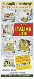 The Italian Job - Australian Movie Poster (xs thumbnail)