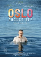 Oslo, 31. august - Swiss Movie Poster (xs thumbnail)