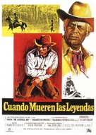 When the Legends Die - Spanish Movie Poster (xs thumbnail)