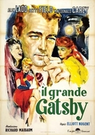 The Great Gatsby - Italian Movie Poster (xs thumbnail)