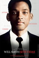 Seven Pounds - Brazilian Movie Poster (xs thumbnail)